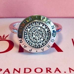 Original pandora signature ring size 7